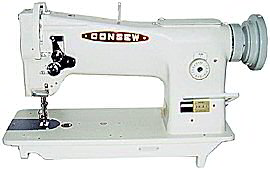 The Consew 206RB-5 industrial walking foot sewing machine