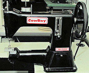 The Cowboy CB2500 leather stitcher