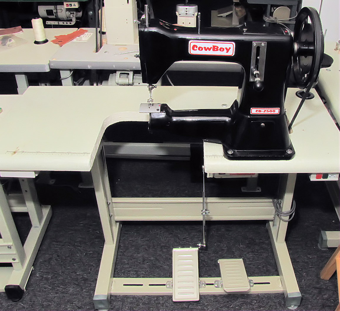 Toledo Industrial Sewing Machines Cowboy Cb2500 Leather