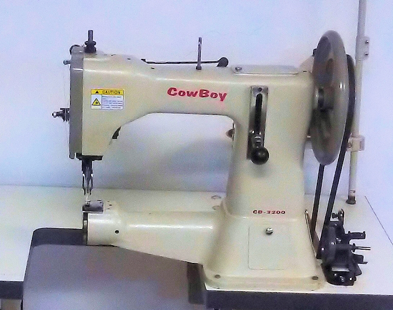 Toledo Industrial Sewing Machines Cowboy CB40 Leather Stitcher Fascinating Used Leather Sewing Machines For Sale In Texas