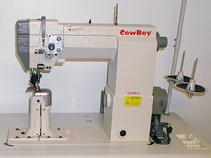 The Cowboy CB-8810 post bed leather sewing machine