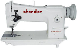 The Chandler 406RB-1 industrial walking foot sewing machine