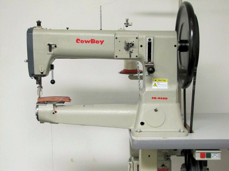 Toledo Industrial Sewing Machines Cowboy CB40 Leather Stitcher Gorgeous How Much Is Industrial Sewing Machine