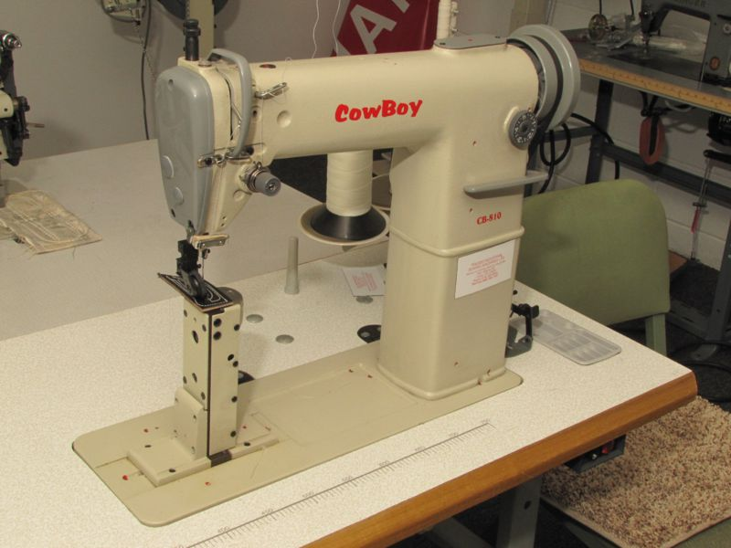 Toledo Industrial Sewing Machines Cowboy Leather Sewing Machines Stunning How Much Is Industrial Sewing Machine